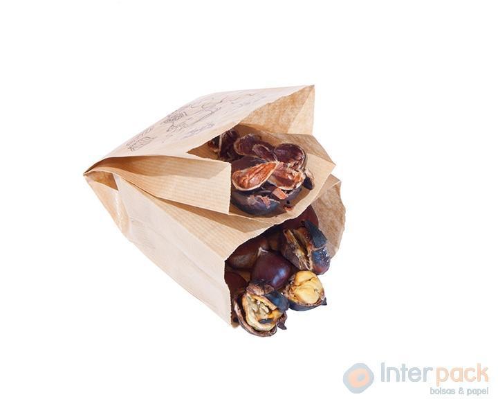 bolsas castañas, bolsas papel pipas, bolsas de papel, bolsas papel kraft, bolsas pan, bolsas castañas, bolsas papel genéricas, papel regalo, interpack.es