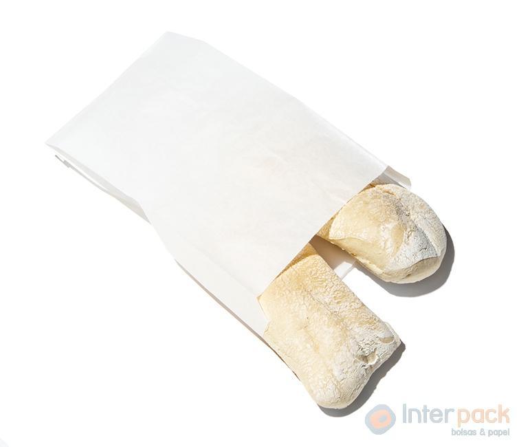 Bolsa Papel Blanco Sin Impresión