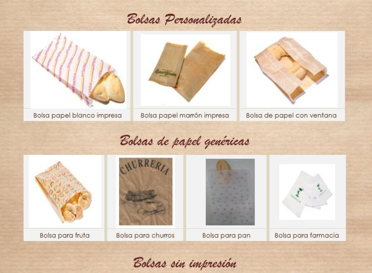 Índice Familias Productos Interpack